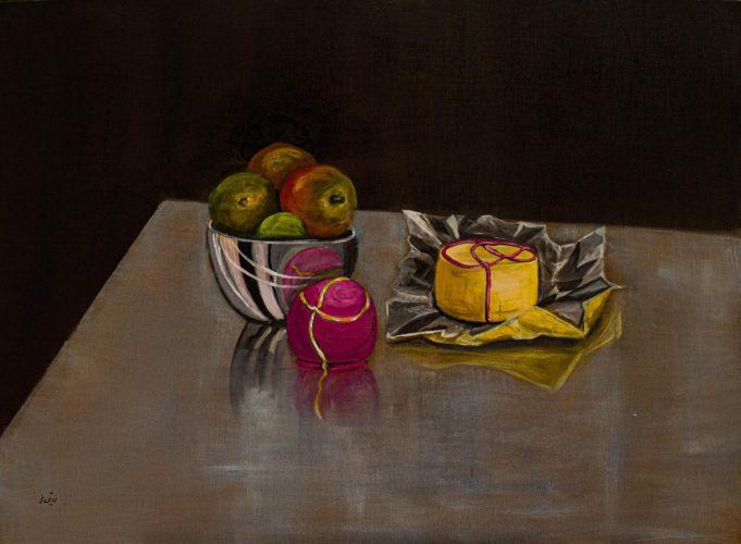 Sweets für jeden GeschmackAcrylmalerei auf Leinwand 80 x 60 cm