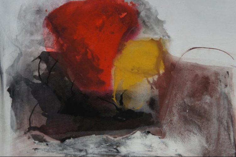 Ekstatisch Acrylmalerei auf Leinwand Bild: 100 x 80 cm