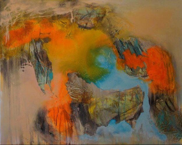Avatar Acrylmalerei auf Leinwand Bild: 100 x 80 cm