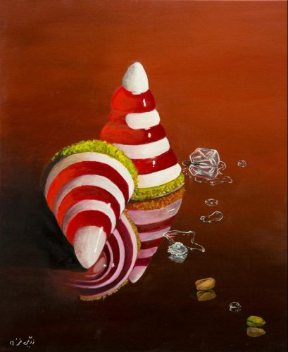 """Sweet """"n"""" Salty Ölmalerei auf Leinwand Bild: 50 x 60 cm"""